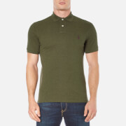 Polo Ralph Lauren Mens Short Sleeve Custom Fit Polo Shirt  Alpine Heather  S