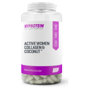 Active Woman Collagen & Coconut Capsules  180 Capsules