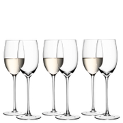 LSA White Wine Glasses - 340ml (Set of 6)