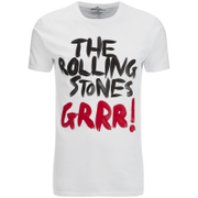 T-Shirt Homme Rolling Stones Logo Tongue - Blanc