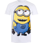 Minions Mens Dave T-Shirt - Wit