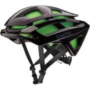 Smith Overtake MIPS Bicycle Helmet - S/51-55cm - Black/Green