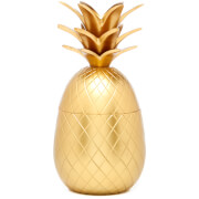 Pineapple Ice Bucket/Storage Pot - Matt Brass