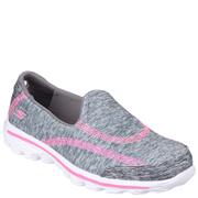 Skechers Kids' Go Walk 2 Relay Shoes - Grey