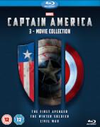 Captain America 1-3 Boxset