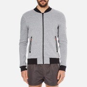 Superdry Men's Gym Tech Bomber Jacket - Grey Grit