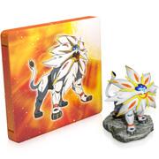 Pokémon Sun Steelbook + Solgaleo Figurine