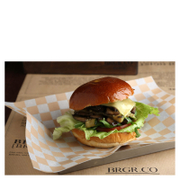 Image of Burger Afternoon Tea for Two at BRGR.CO