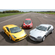 Image of Brands Hatch Triple Supercar Driving Blast with Passenger Ride