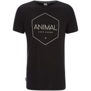 Animal Mens Longtide TShirt  Black  XL