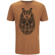 Animal Mens Owly TShirt  Leather Brown Marl  M