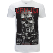 Terminator Mens CSM 101 T-Shirt - Wit