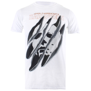 Halloween Men's Slashed T-Shirt - White