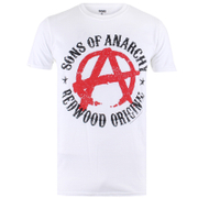 Sons of Anarchy Men's Anarchy T-Shirt - White