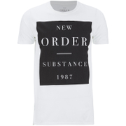 New Order Men's Substance Boxes T-Shirt - White