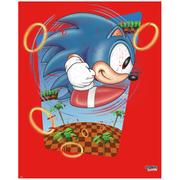 Affiche Sonic le Hérisson 'Rings' -Fine Art