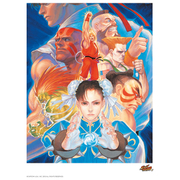 Street Fighter 'That's Good Kung-Fu!' Art Print 14 x 11""