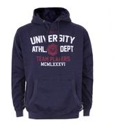 Varsity Team Players Men's University Athletic Hoody - Navy