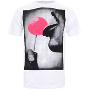 Cotton Soul Men's Lollypop T-Shirt - White