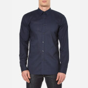 HUGO Men's Elisha Long Sleeve Shirt - Navy