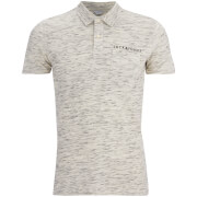 Jack & Jones Herren Core Barrett Polo Shirt - Weiß