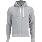 Soul Star Men's Berkley Zip Through Hoody - Grey Marl