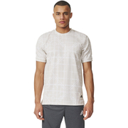 adidas Men's Graphic DNA Training T-Shirt - White/Grey - XL