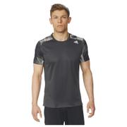 adidas Men's Response Graphic Running T-Shirt - Black - M