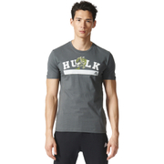 adidas Men's Hulk Training T-Shirt - Green - M