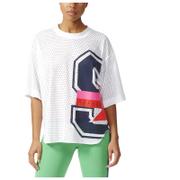 adidas Women's Stella Sport Mesh Training T-Shirt - White