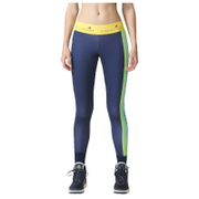 adidas Women's Stella Sport Logo Training Tights - Blue