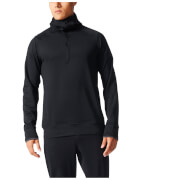 adidas Men's Climaheat Full Zip Training Hoody - Black - L