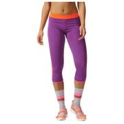 adidas Women's Stella Sport 3/4 Training Tights - Purple
