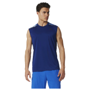 adidas Men's Cool 365 Training Sleeveless T-Shirt - Blue - M