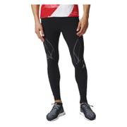 adidas Men's Adizero Sprintweb Running Long Tights - Black - L