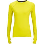 adidas Womens Climaheat Training Long Sleeve Top  Yellow  M