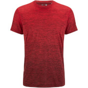 adidas Men's Gradient Training T-Shirt - Red - M