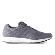adidas Men's Mana Bounce Running Shoes - Grey/Silver - US 12.5/UK 12