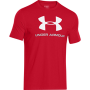 Under Armour Men's Sportstyle Logo T-Shirt - Red