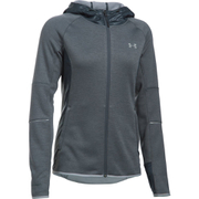 Under Armour Women's Swacket Full Zip Hoody - Stealth Grey