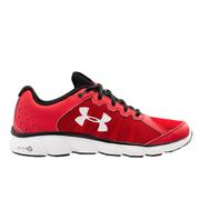 Under Armour Men's Micro G Assert 6 Running Shoes - Red/Black/White - US 11.5/UK 10.5 - Red/Black