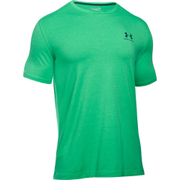 Under Armour Men's Sportstyle Left Chest Logo T-Shirt - Boost/Nova Teal - L - Green