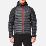 Haglofs Men's Essens Mimic Hooded Jacket - Magnetite/True Black