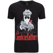 Cookie Monster Herren Cookiefather T-Shirt - Schwarz