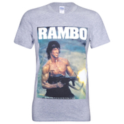 Rambo Men's Gun T-Shirt - Grey
