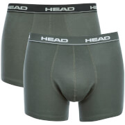 Lot de 2 Boxers Head - Noir / Gris
