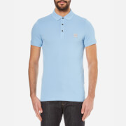 BOSS Orange Men's Pavlik Pique Polo Shirt - Pastel Blue