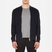 BOSS Orange Men's Ztripe Zipped Sweatshirt - Dark Blue