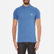 BOSS Orange Men's Pavlik Pique Polo Shirt - Open Blue
