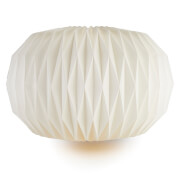 Broste Copenhagen Paper Lightshade - Design No. 5 - Pure White